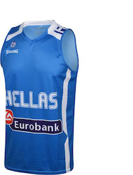 163bcb644ac Spalding Greece Jersey Replica 3003912013040 Blue