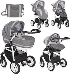 Lorelli Bertoni Kara 3 in 1 Dark Grey
