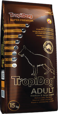 TropiDog Tropifit Super Premium Adult Medium/ Large 15kg