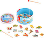 Tooky Toys Wooden Fishing Game