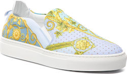Πάνινα παπούτσια VERSACE COLLECTION - LSD583C LSPES LM10H Multicolor