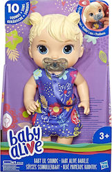 Hasbro Baby Alive Lil Sounds Blonde Hair