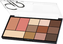 Golden Rose City Style Face & Eye Palette 01 Warm Nude