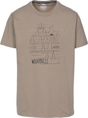 Ανδρικό T-shirt Trespass Man Forest Oatmeal / Oatmeal / TR-MATOTSO10008-OATMEAL_1