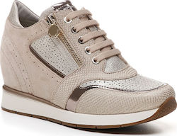 668e3c2ce36 Sneakers Jackie 10 STONEFLY Taupe Γυναικεία Sneakers 210782 11E