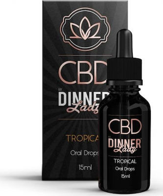 Dinner Lady CBD Oral Drops 250mg 15ml Tropical