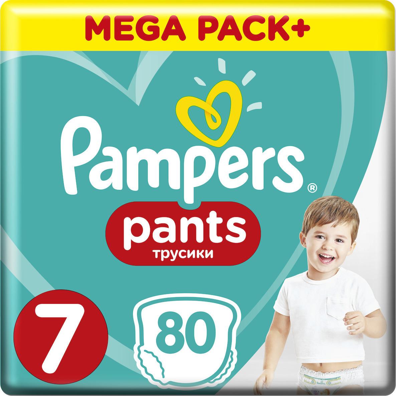 3e99352055f Προσθήκη στα αγαπημένα menu Pampers Pants Mega Pack No 7 (17+kg) 80τμχ