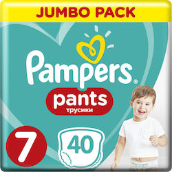 Pampers Pants Mega Pack No 7 (17+kg) 40τμχ