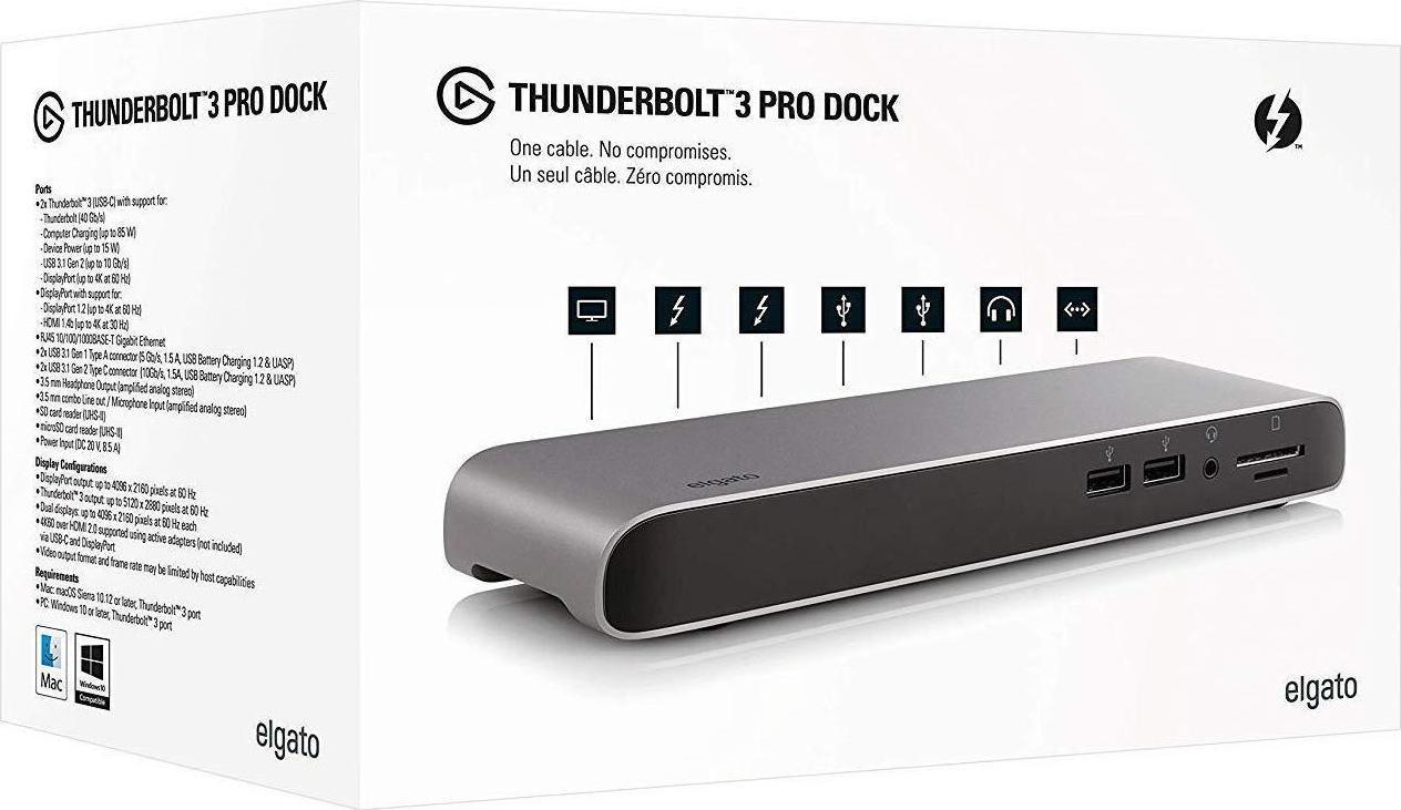 Elgato Thunderbolt 3 Pro Dock