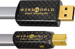 Wireworld USB 2.0 Cable USB-A male - USB-B male 1.5m (Platinum Starlight 7)