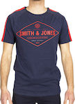 Smith and Jones Gowland T-Shirt M ( SJ2A112795-NVY )