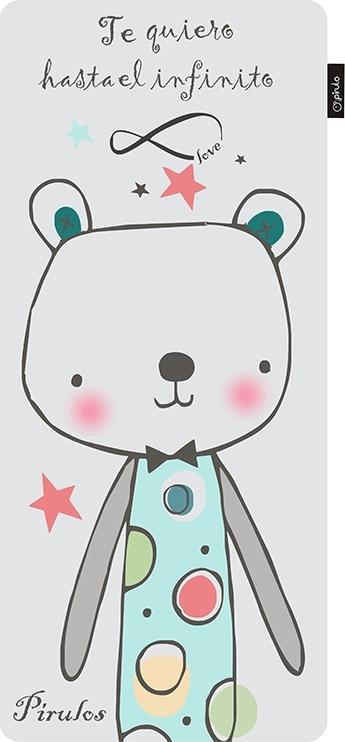 f24babe8967 Προσθήκη στα αγαπημένα menu Pirulos Στρωματάκι Καροτσιού Μονής Όψεως Oso  Bear