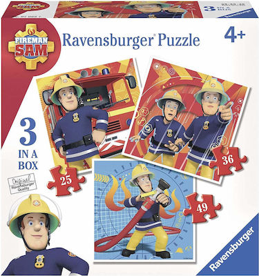 3 in 1 Sam Fireman 110pcs (07065) Ravensburger