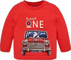 3d32fd5d1249 Παιδικές Μπλούζες Μακρυμάνικες, Κόκκινα - Skroutz.gr