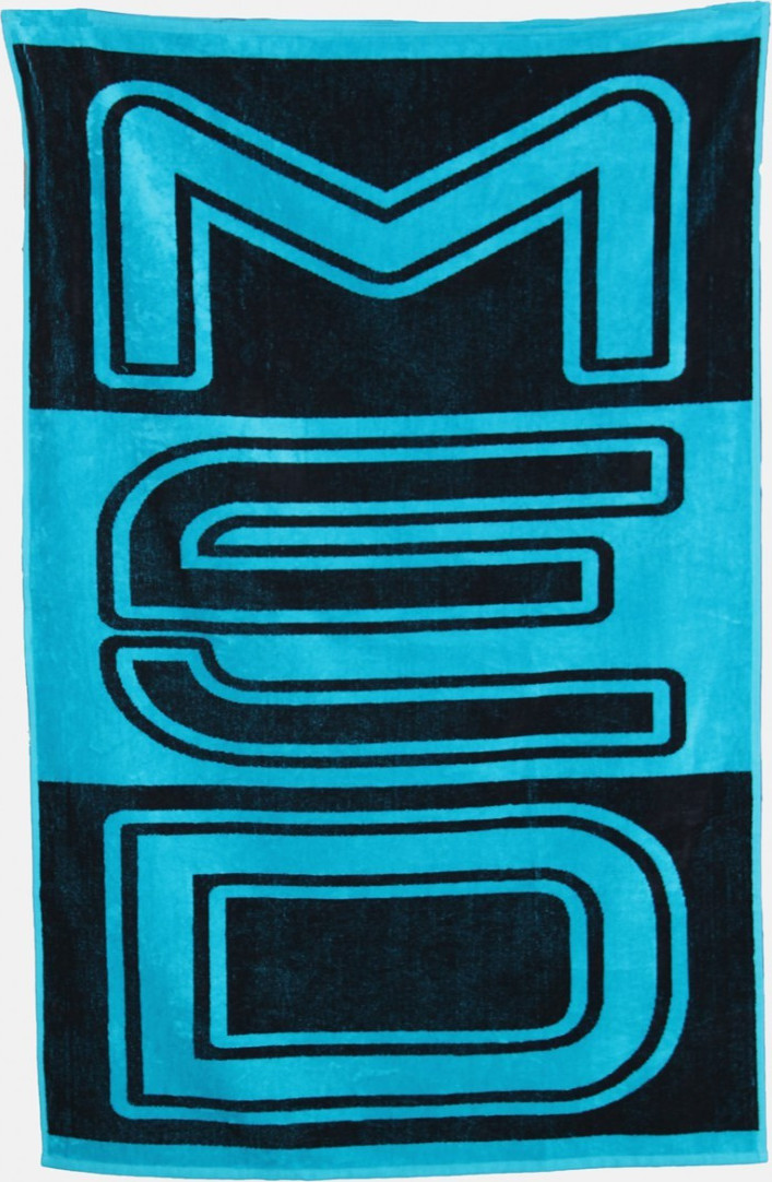 5066bcd928 Προσθήκη στα αγαπημένα menu Med Πετσέτα Θαλάσσης 70x140 Logo Black Turquoise