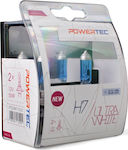 M-Tech H7 Powertec Ultra White 12V 2τμχ