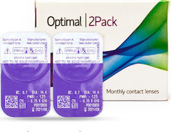 c66de3b2d4 Optimal Vision Air Comfort Μυωπίας-Υπερμετρωπίας Μηνιαίοι 2τμχ