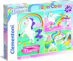 Supercolor I Believe In Unicorns 3x48pcs (25231) Clementoni