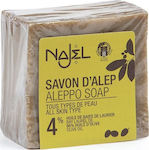 Najel Aleppo Soap 4% Bay Laurel Oil 155gr