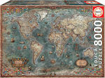 Antique World Map 8000pcs