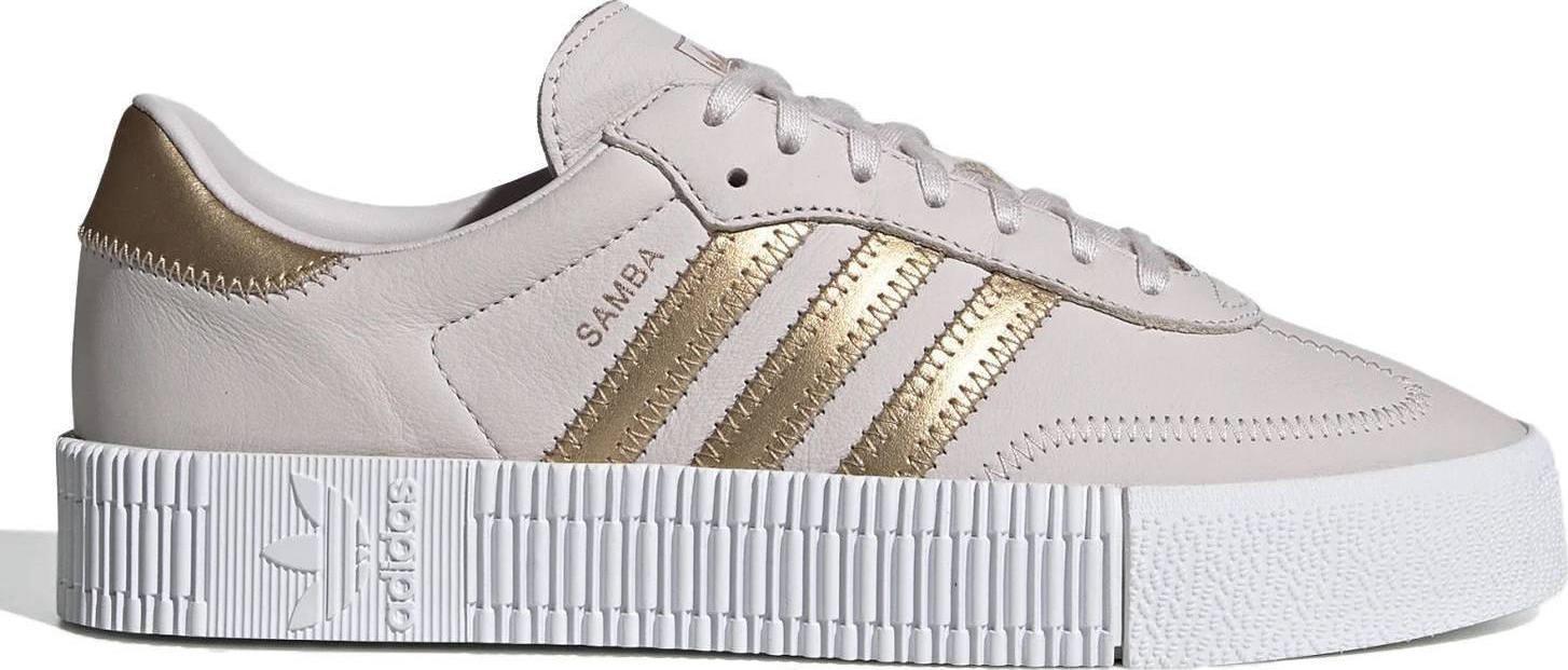 Adidas Damen Sneaker Sambarose OrcTinGreThrFtwWht EE6743