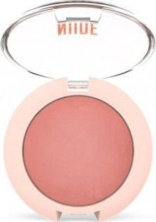 Golden Rose Nude Look Face Baked Blusher Peachy Nude