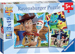 Toy Story 4 3x49pcs (08067) Ravensburger