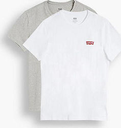 Levi's Crewneck Graphic 2 Pack 79681-0001 White / Grey