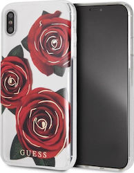 8f63c41000a Guess Flower Desire Back Cover Πλαστικό Κόκκινο (iPhone XS Max)