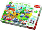 Flip Flap Vehicles 36pcs (14273) Trefl