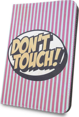 "Don't Touch Flip Cover (Universal 9-10"")"