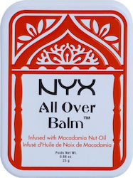 Nyx Professional Makeup All Over Balm Macadamia Nut Oil 25gr