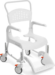 Etac Clean Height Adjustable 48cm 4 Lockable Wheels White