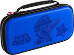 Bigben Interactive Travel Case Super Mario Blue Switch