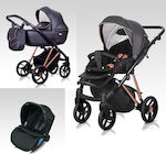 Milu Kids 3 in 1 Vivaio 04 Anthracite With Bron...
