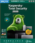 Kaspersky Total Security 2020 (5 Licences , 1 Year) Key