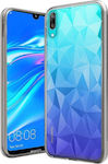 Forcell 3D Air Prism Back Cover Σιλικόνης Διάφανο (Huawei Y7 2019 / Y7 Prime 2019)