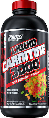 Nutrex Liquid Carnitine 3000 473ml Sour Gummies