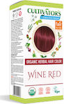 Cultivator Organic Herbal Hair Colour Wine Red
