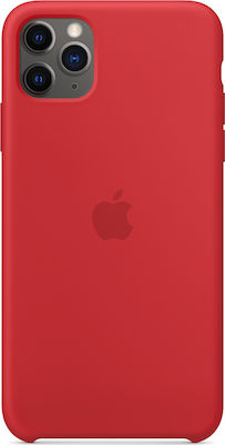 Apple Silicone Case (Product)Red (iPhone 11 Pro Max)