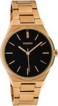 Γυναικείο Ρολόι Oozoo Timepieces C10344 Black / Rose Gold