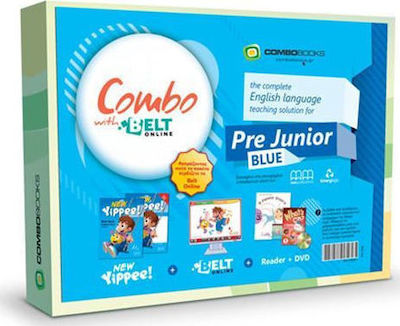 COMBO PACK YIPPEE PRE-JUNIOR WITH BELT ON LINE PACK(BLUE)