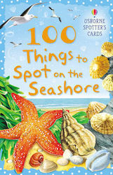 USBORNE SPOTTER'S CARDS : 100 THINGS TO SPOT ON A SEASHORE