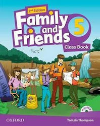 FAMILY AND FRIENDS 5 2ND EDITION STUDENT'S BOOK 2019