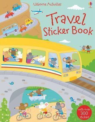 STICKER BOOKS-TRAVEL PB