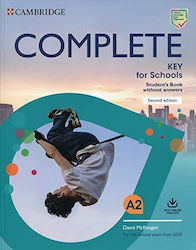 Complete ket for Schools Student's Book Without Answers (+online Practice) Revised 2020