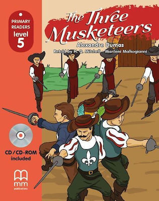 THE THREE MUSKETEERS Student's Book (with CD)