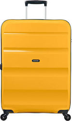 American Tourister Βαλίτσα Σκληρή με 4 Ρόδες Bon Air Spinner 59424-2347 Large Light Yellow