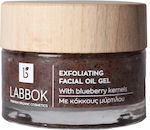 Labbok Exfoliating Facial Oil Gel with Blueberry Kernels 50ml