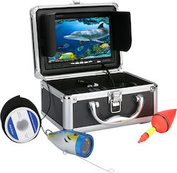 "Fish Finder 7"" Inch 1000tvl Underwater Fishing Video Camera Box Smart Recording Optical Tracking Instrument Fisherman Partner"